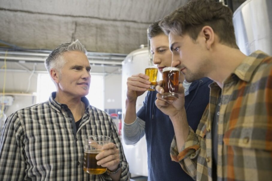 You may like beer, but do you have any knowledge on the brewing process? If not, you may be OK. Most brewery tour guides learn on the job. Hero Images/Getty Images