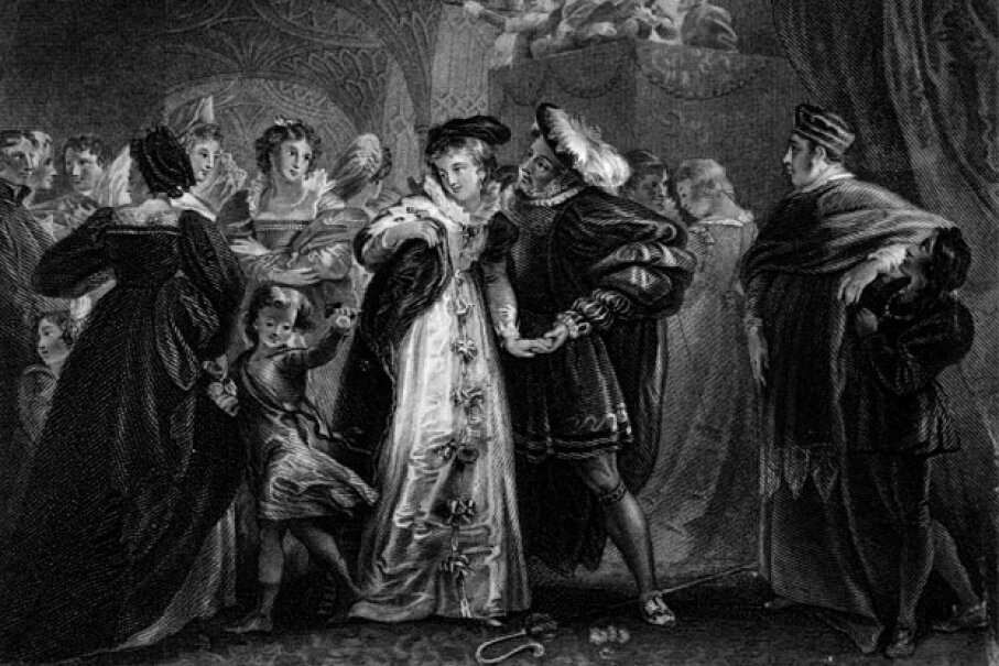 Henry VIII was instantly smitten with Anne Boleyn. Hulton Archive/Getty Images