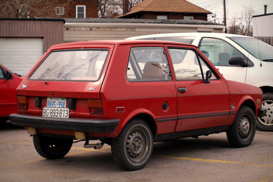 The Yugo GV (Creative Commons/Flickr/MSVG)