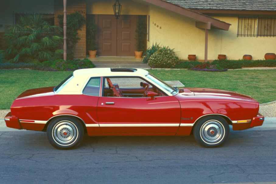 The 1974 Ford Mustang II (Courtesy of Ford Motor Company)