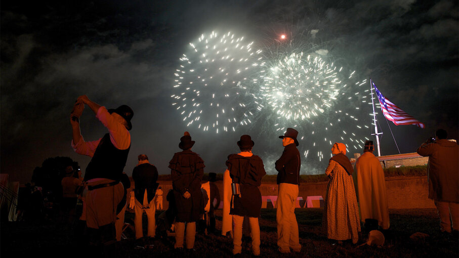 The War of 1812: The White House Burns and 'The Star-Spangled Banner' Is Born