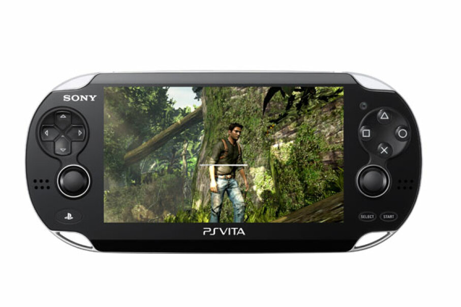 The Vita's screen is bigger and more colorful than that of older PS's. ©2011 Sony Computer Entertainment Inc.