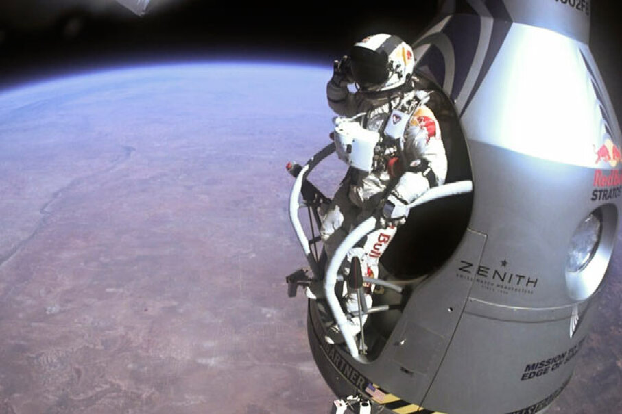 If the Stratos can handle conditions like this, chances are it can withstand most Earth-bound extremes. Getty Images News