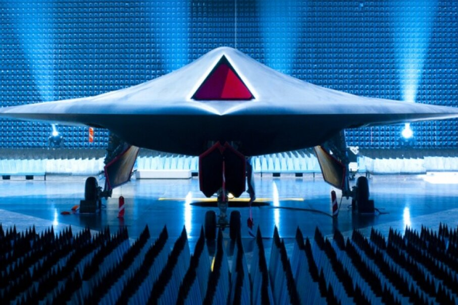 BAE's Taranis unmanned combat air vehicle took to the air for the first time in 2013. The Taranis is designed to be speedier than existing UAVs, like the Predator and Reaper. Image courtesy BAE Systems