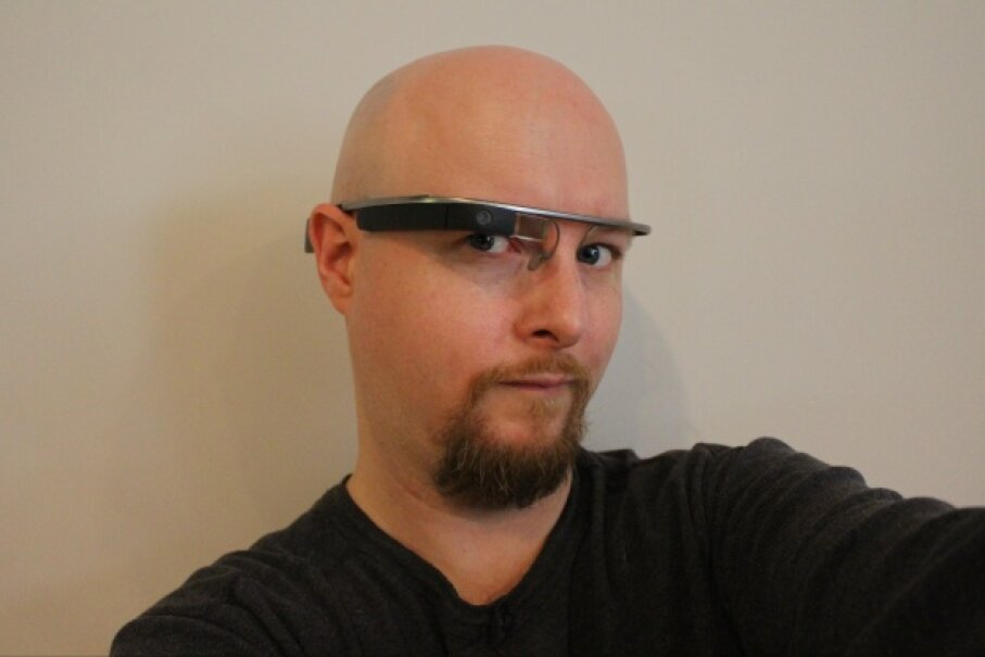 HowStuffWorks' own Jonathan Strickland got to give Google Glass a go. You can read about his adventures in this post. © Jonathan Strickland 2013