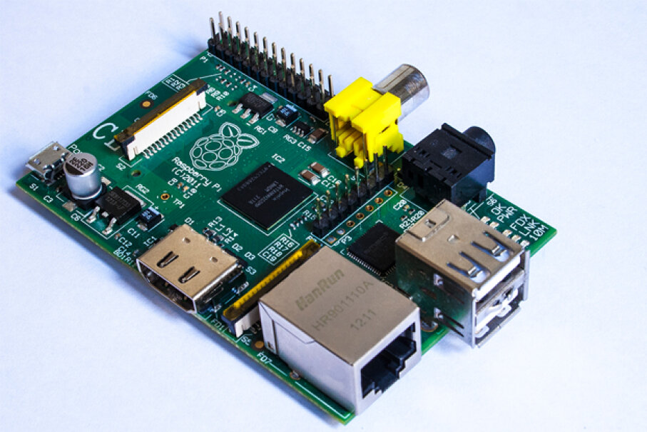 Raspberry Pi is a good example of an inexpensive, tiny, custom computer that the DIY crowd could use to track data or record performance statistics. The possibilities are infinite. (Creative Commons/Flickr/Mark Ramsay)