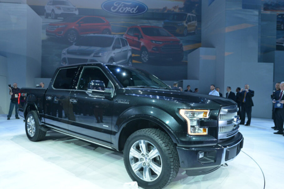 The all-new 2015 Ford F-150 has a high-strength, military-grade, aluminum alloy body. (Courtesy of Ford Motor Company)