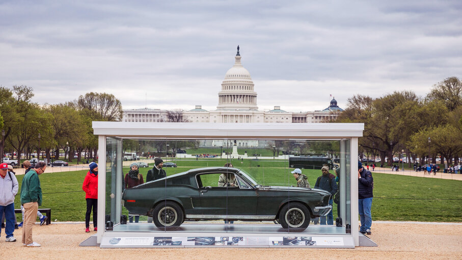 Bullitt Mustang Steve McQueen