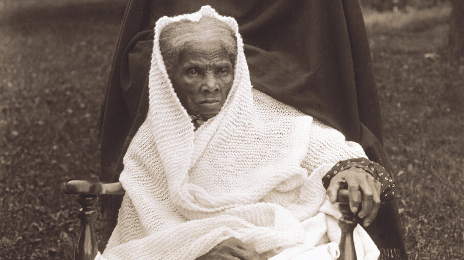 Elderly Harriet Tubman