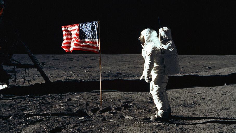 Buzz ALdrin, moon