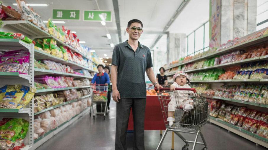 Han Gwang, supermarket