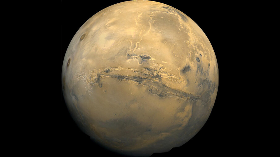 Valles Marineris Mars
