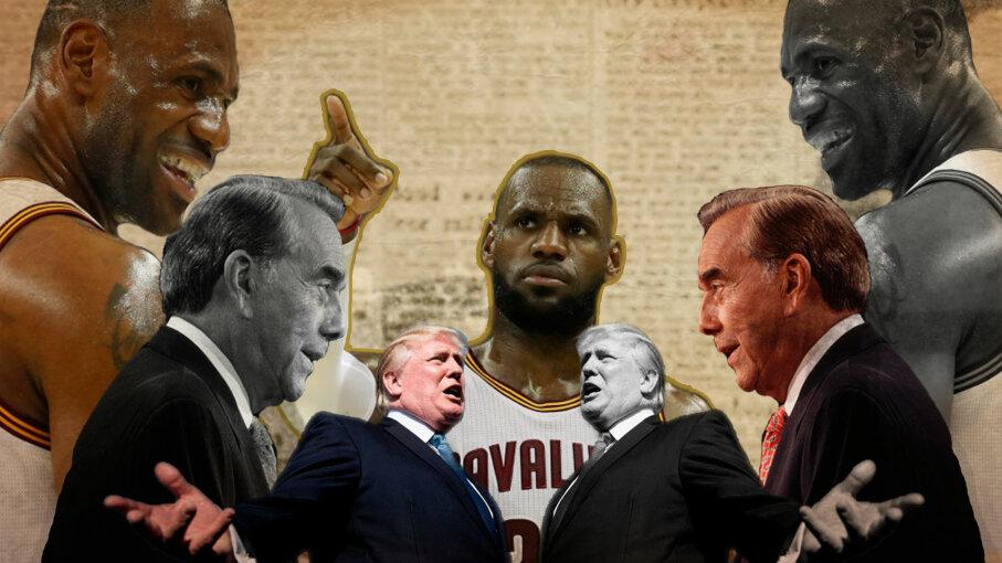 Bob Dole, LeBron James, Donald Trump