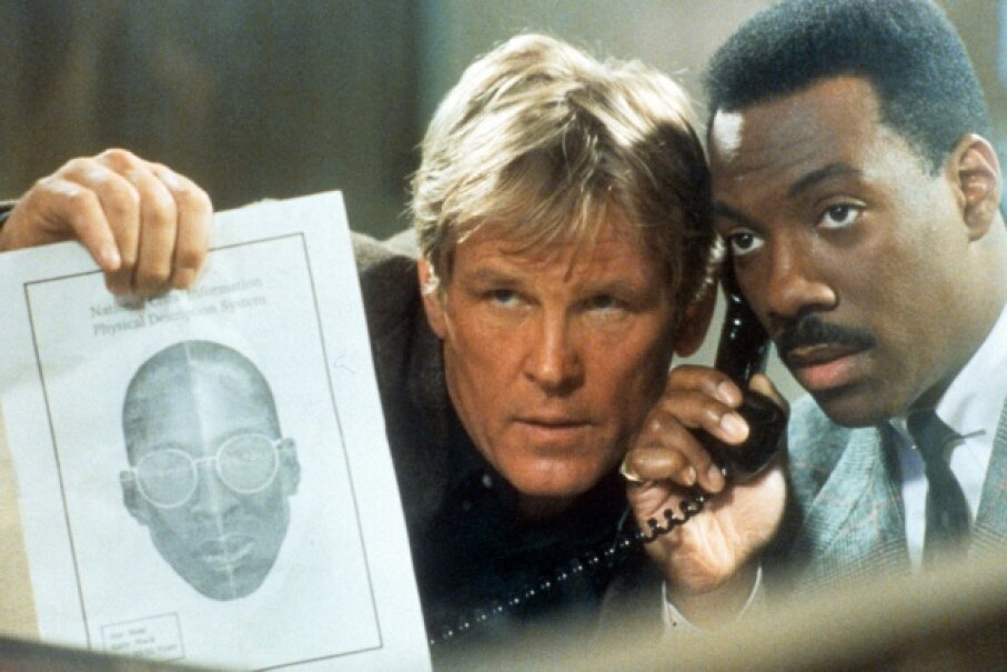 "Nick Nolte and Eddie Murphy were so successful in ""48 Hrs."" that they made ""Another 48 Hrs."" Paramount/Getty Images"