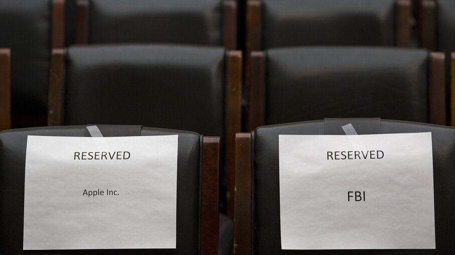 Seats for Apple and FBI