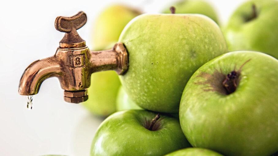 apple cider, apple juice