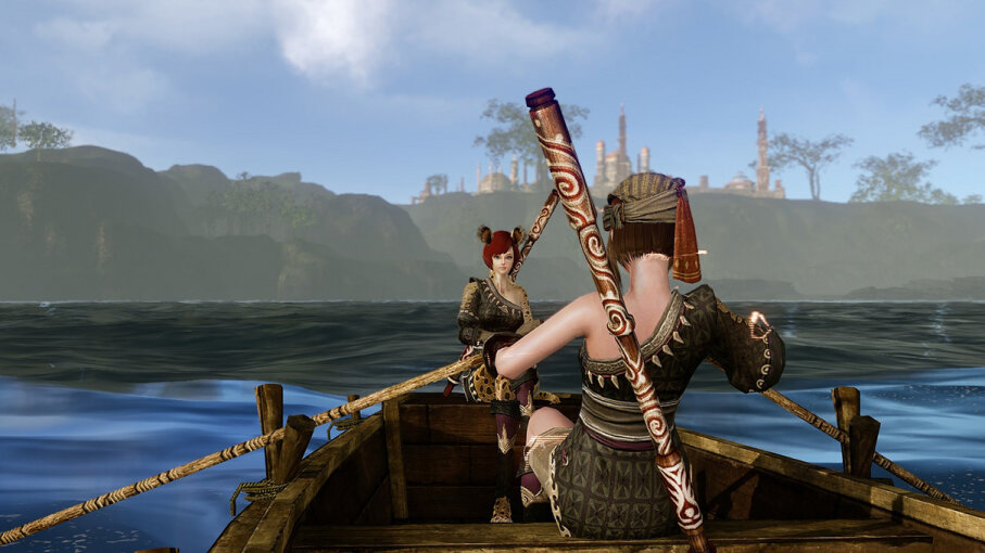Social relationships may actually improve when the world ends, according to a recent study of the online game ArcheAge (pictured here). 2014 Jovial Joystick/CC BY 2.0