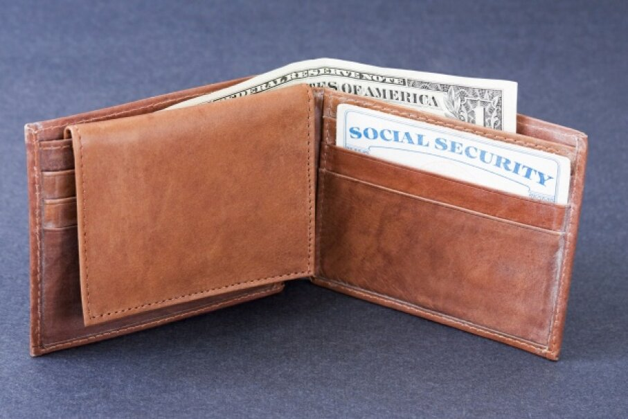 Social security card in your wallet? Remove it and keep it safe at home. ©iStock/Thinkstock
