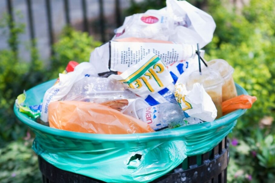 Your trash can be a treasure trove of information to identity thieves.  ©Thinkstock
