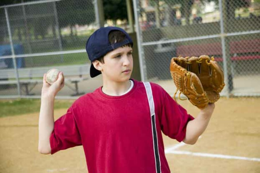 Don't overdo that pitching arm. Little League says 7- and 8-year-olds shouldn't throw more than 50 pitches a day or 75 pitches a week Jupiterimages/liquidlibrary/Thinkstock