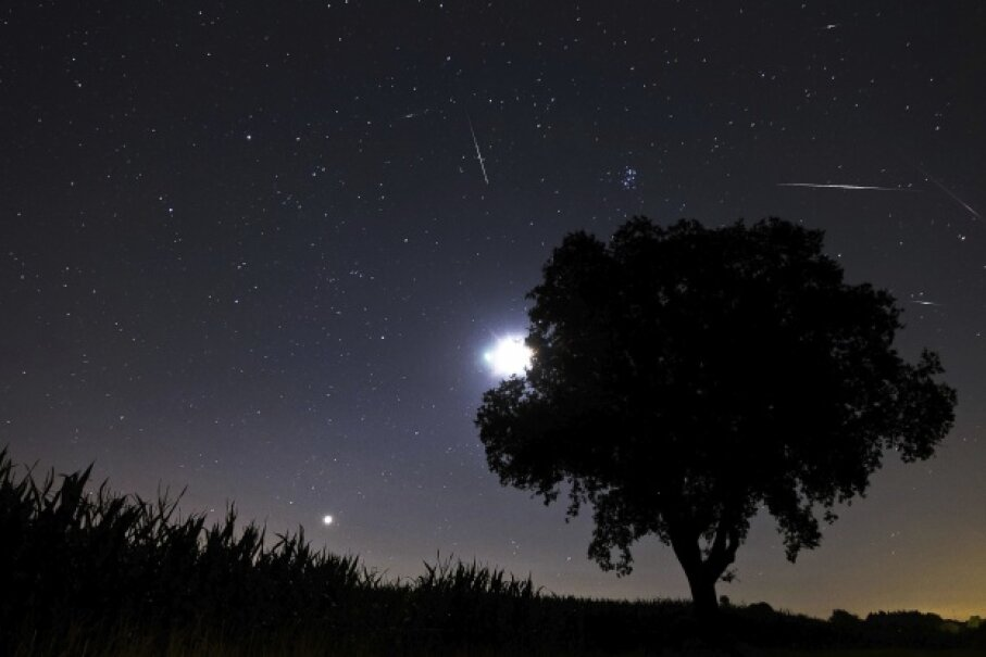 Meteors can put on quite a show for campers who are willing to find a patch of dark sky. This display was part of the Perseids. iStockphoto/Thinkstock