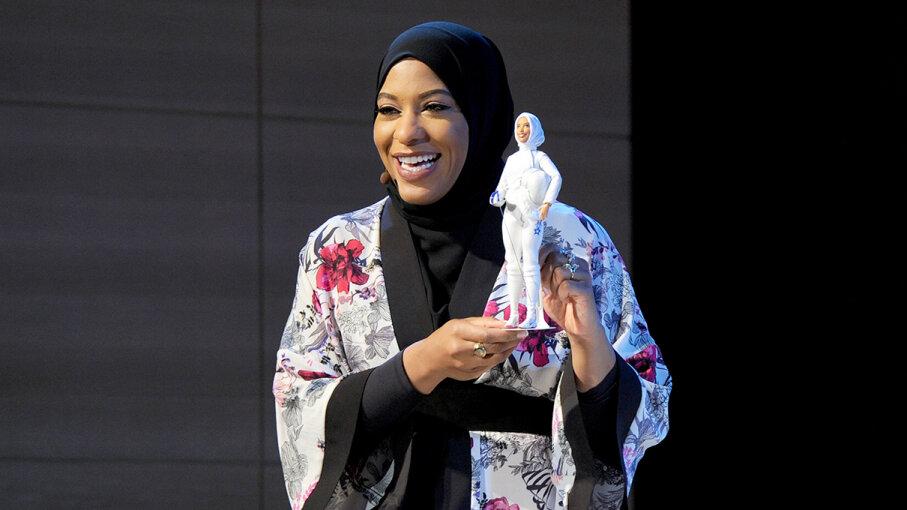 Ibtihaj Muhammad Barbie hijab