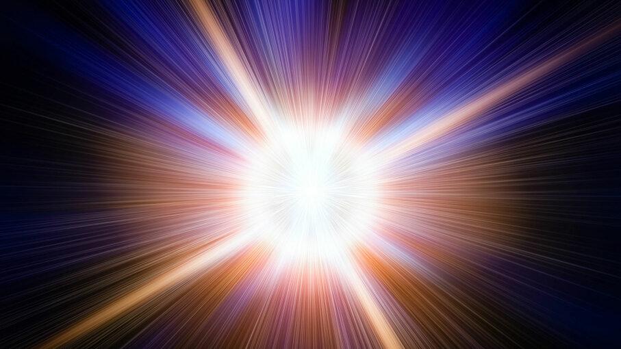 illustration of big bang