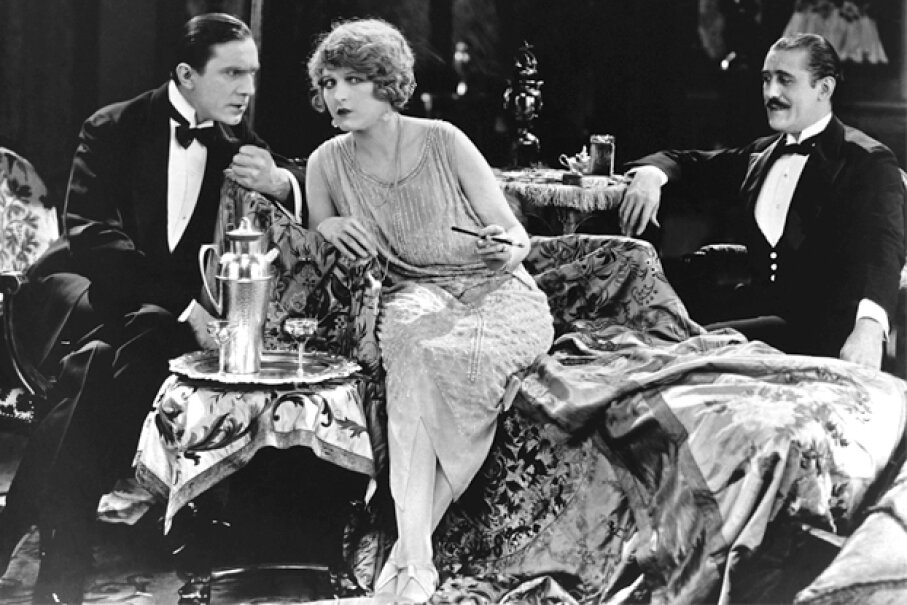 """Actors Bela Lugosi and Martha Mansfield in the 1923 film """"Silent Command."""" Archive Images/Getty Images"""