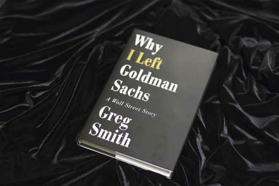 Greg Smith resigned from Goldman Sachs by way of a New York Times op-ed -- and was able to get a book deal out of it. © LUCAS JACKSON/Reuters/Corbis