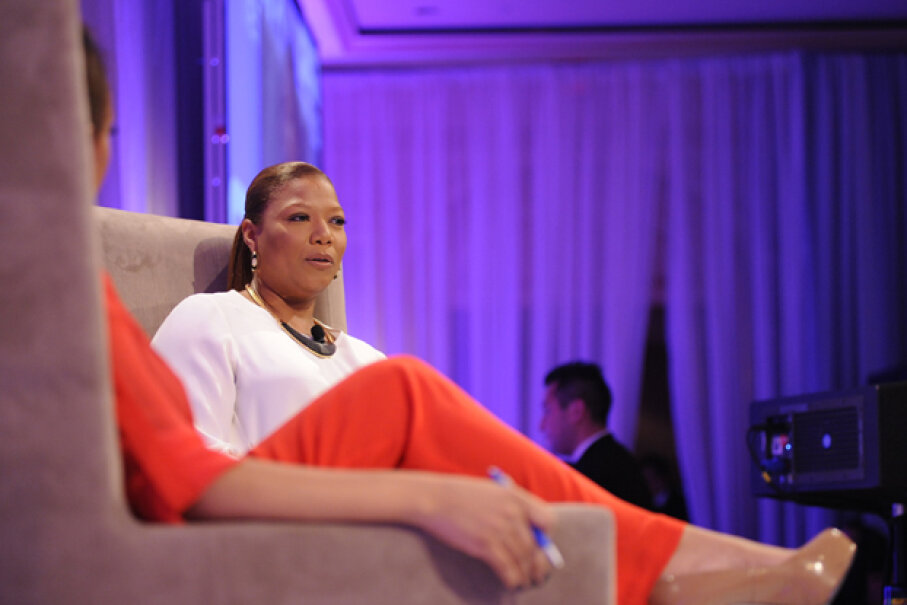 Queen Latifah offered Marina Shifrin a job after she appeared on her talk show following Shifrin's video resignation that went viral. Kris Connor/Getty Images for BET