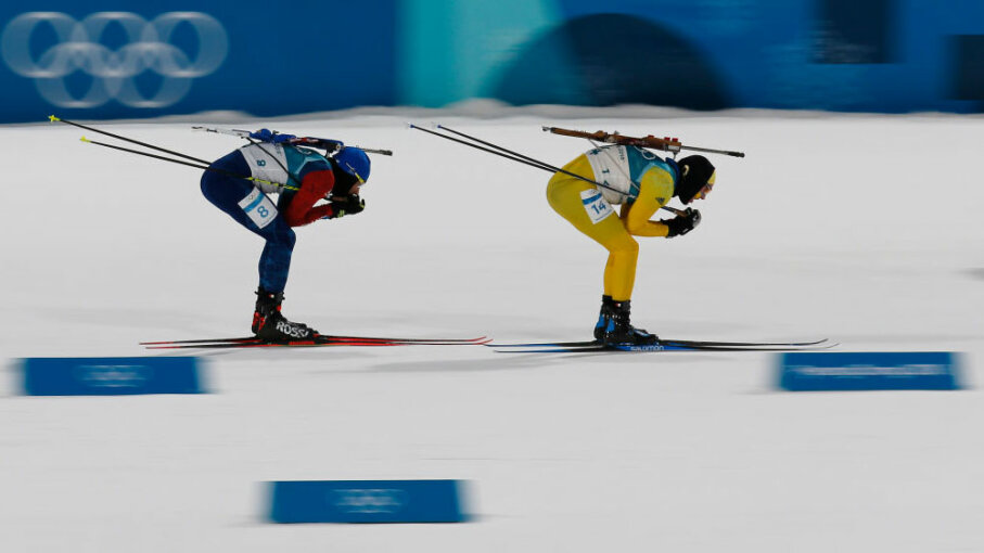 Martin Fourcade of France biathlon gold Olympics