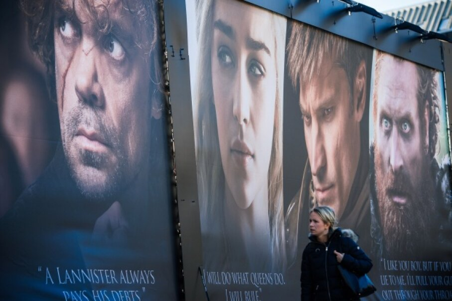 """The memorable characters in """"Game of Thrones"""" keep binge-watchers' eyes locked on the TV screen. JONATHAN NACKSTRAND/AFP/Getty Images"""