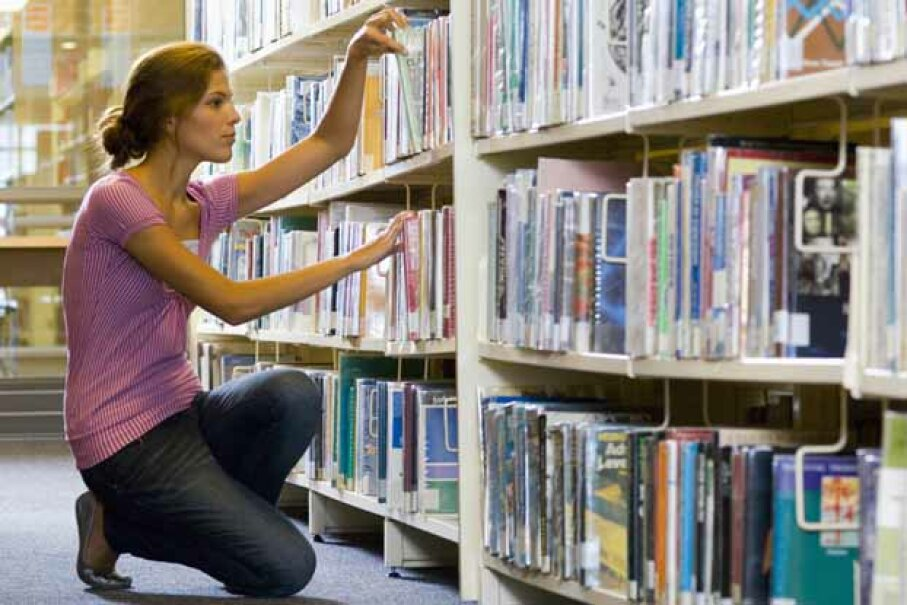 If you study ethics, you might be more likely to steal books. Pixland/Thinkstock