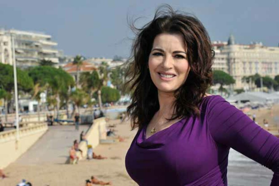 Cookbook author and TV personality Nigella Lawson has both a curvy figure and a degree from Oxford. Tony Barson/WireImage/Getty Images