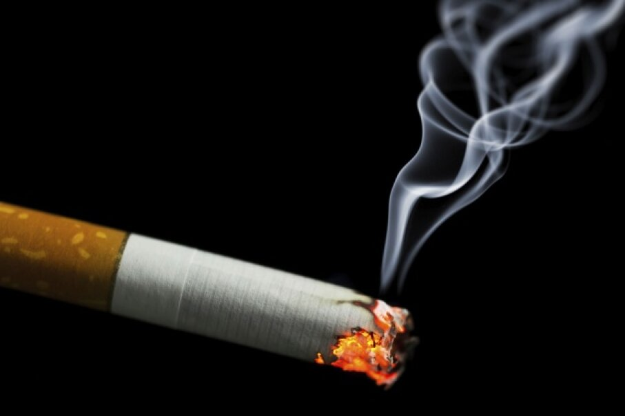You're going to blow tobacco smoke WHERE? © nikkytok/iStock/Thinkstock