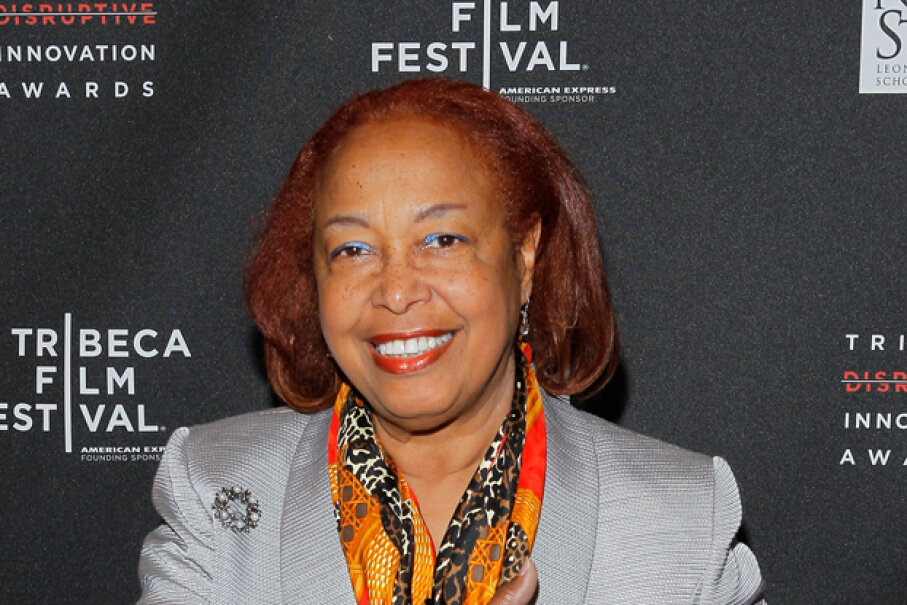 Dr. Patricia Bath attends the Tribeca Disruptive Innovation Awards during the 2012 Tribeca Film Festival in New York. She invented a laser probe to treat cataracts. Jemal Countess/Getty Images