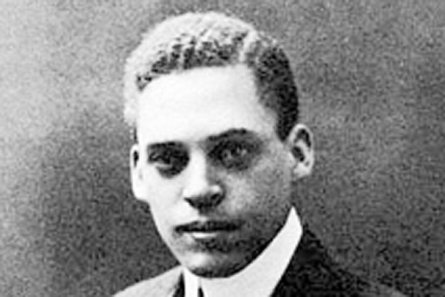 Ernest Everett Just pioneered research into cell fertilization, division, hydration and the effects of carcinogenic radiation on cells Wikimedia Commons