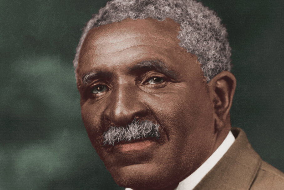 George Washington Carver is best known for the hundreds of uses he discovered for products like peanuts. He rarely patented his ideas, instead giving them freely to others. Stock Montage/Stock Montage/Getty Images