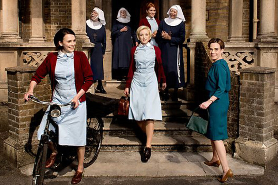 "The fourth season of ""Call the Midwife"" premiered in 2015. BBC"