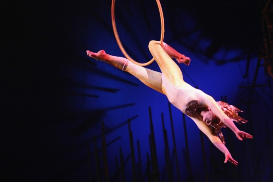 Acrobatics are a linchpin of the circus arts. Victor Chavez/WireImage/Getty Images