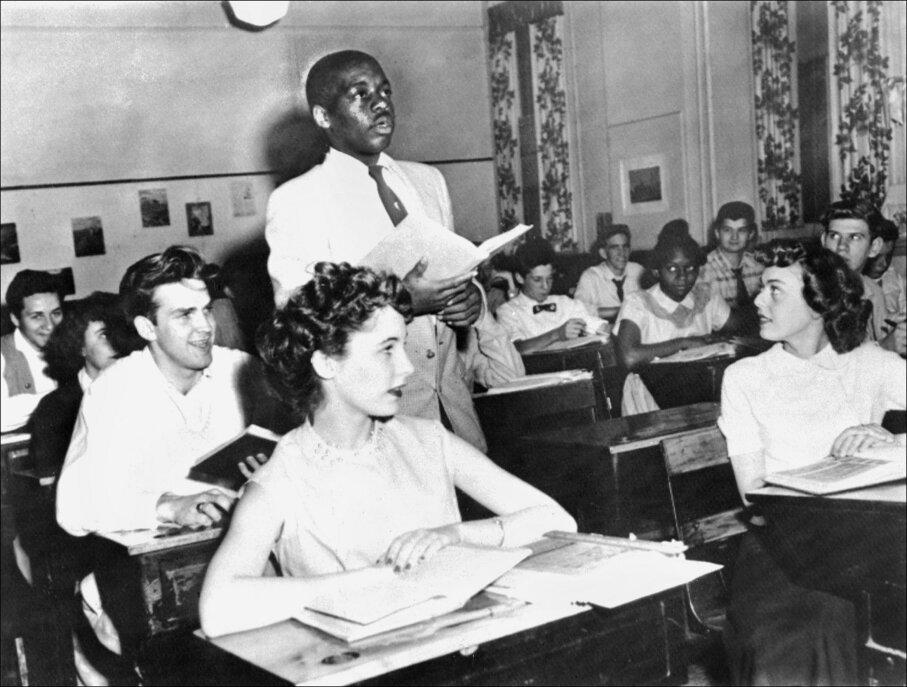 Nathaniel Steward, Brown v Board of Education, integration