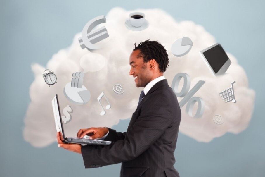 You're probably using the cloud more than you realize.  ©Wavebreak Media/Thinkstock