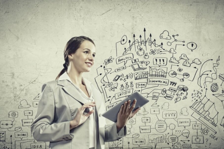 Capture that visual in the cloud. iStock/Thinkstock