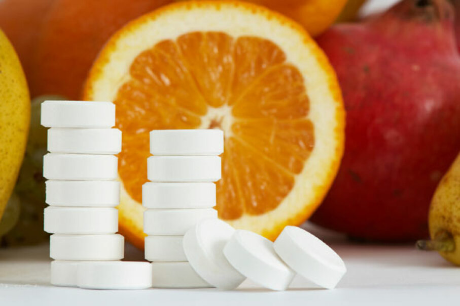 While for most of us, taking vitamin C isn't going to help prevent or treat a cold, if your body is under extreme stress -- runners, skiers, and soldiers stationed in extreme sub-arctic areas -- it may help reduce your risk of catching a cold. ©iStockphoto/Thinkstock