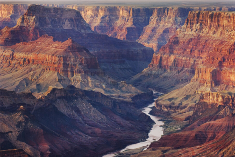 The Colorado River, winding through Grand Canyon National Park, was the setting of the Hyde disappearance. Alan Majchrowicz/Getty Images