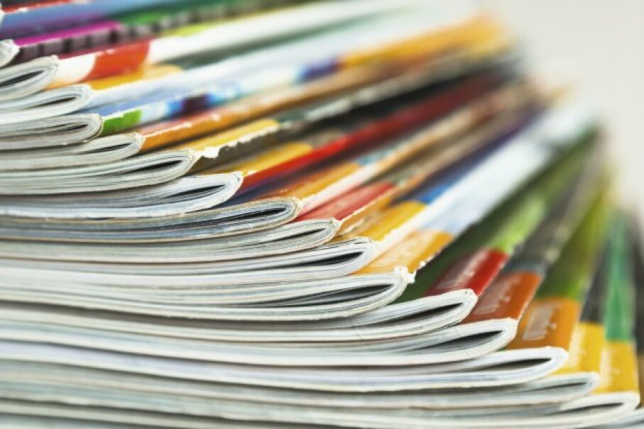 You may be able to deduct your magazine subscriptions ... if you subscribe for work. Christian Müller/iStockphoto/ThinkStock