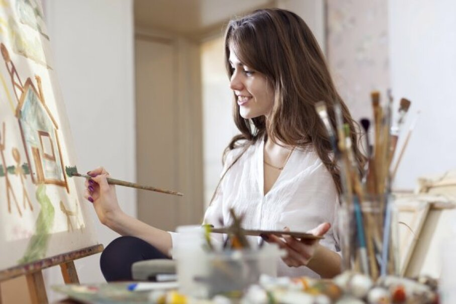 Unless it becomes a business, you can deduct money you spend on a hobby. JackF/iStockphoto/ThinkStock