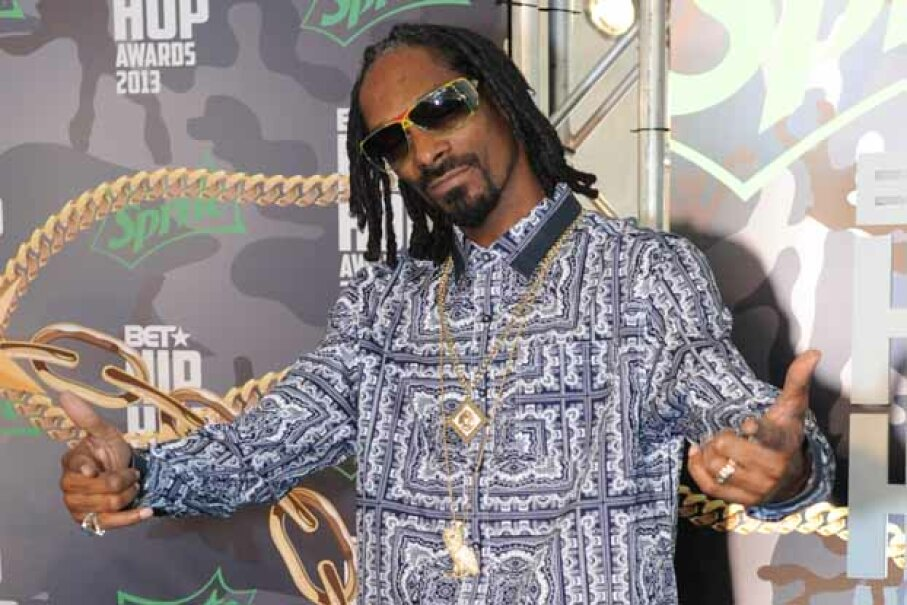 For a lot of people, it's Snoop's world, and we just live in it. Chris McKay/WireImage/Getty Images
