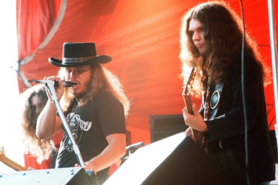 """Reserve your """"Freebird"""" requests for actual Lynyrd Skynyrd concerts. Michael Putland/Hulton Archive/Getty Images"""