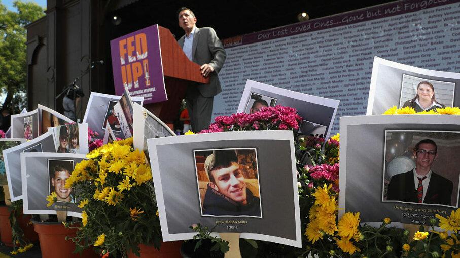 Michael Botticelli, opioid epidemic rally